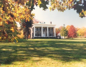fall photo of Perkins exterior